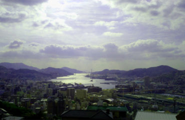 長崎にっしょうかんからの景色