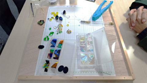 ガラス細工素材