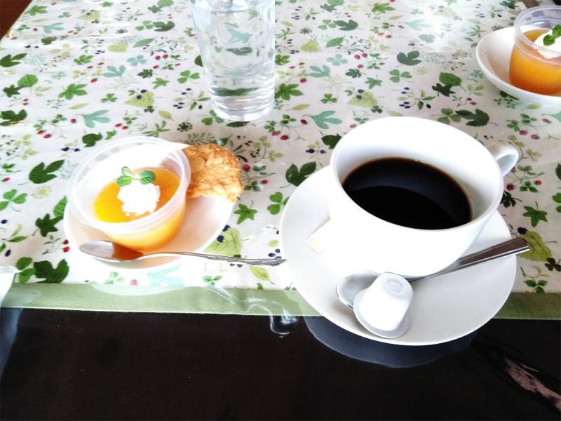 峠茶房のコーヒー